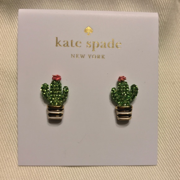 Kate Spade Jewelry Cactus Earring Poshmark